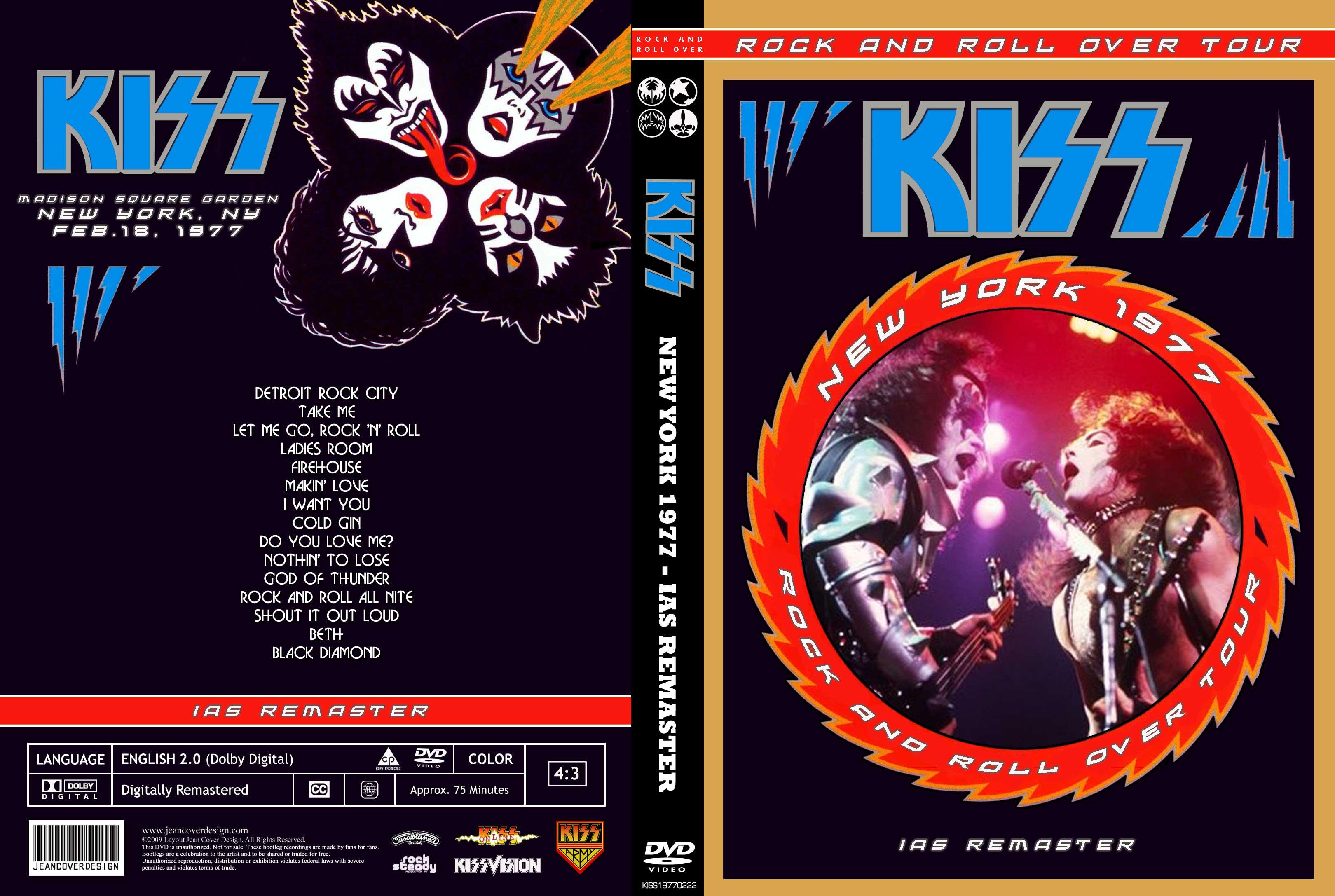 Kiss live 1977 nombre kiss new york 1977